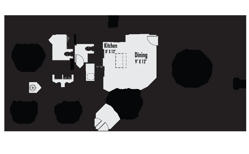 The Ainsworth Custom Home Floor Plan Adair Homes
