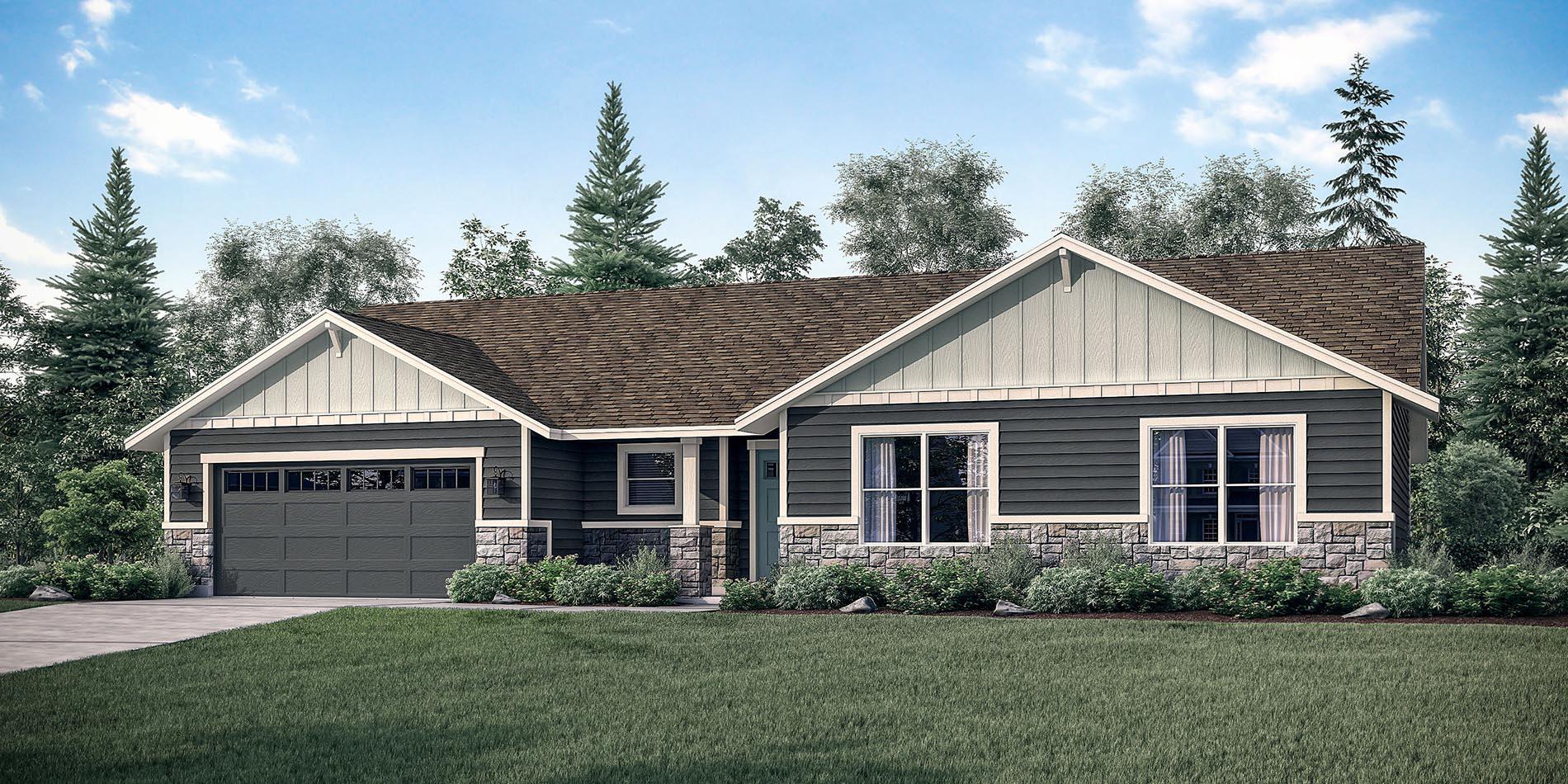 The Caldera Custom Home Floor Plan Adair Homes