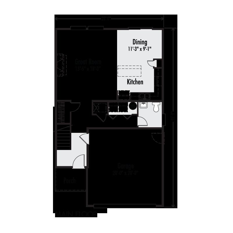 The ruby custom floor plan adair homes for Adair homes floor plans prices