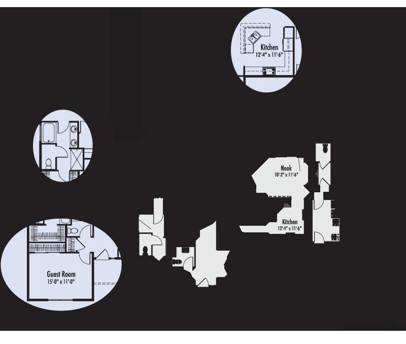 The Josephine Custom Floor Plan Adair Homes