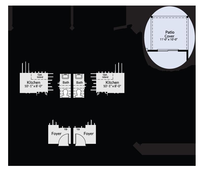 The Pines Custom Home Floor Plan Adair Homes