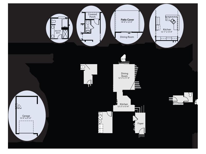 The Aspen Custom Home Floor Plan Adair Homes