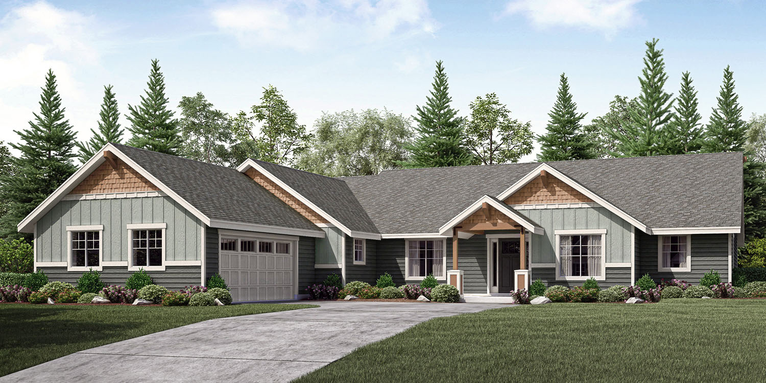 The Cashmere Custom Floor Plan Adair Homes