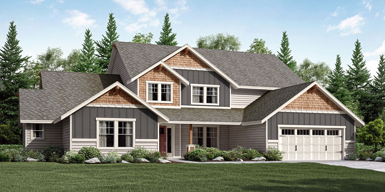 superb adair home plans #6: the Cascades